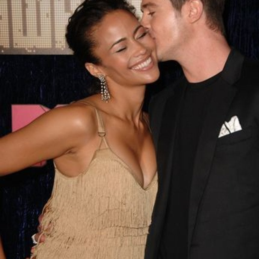 Robin Thicke and Paula Patton's Love In Pictures