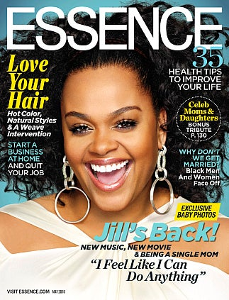 Jill Scott On The May Cover of ESSENCE Magazine