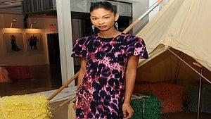 Star Gazing: Chanel Iman is Pretty in Pink