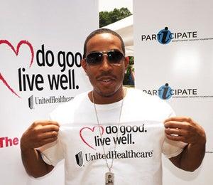 Star Gazing: Ludacris Does His Part