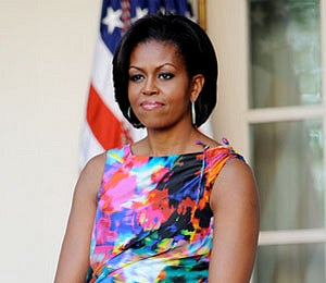 The First Lady's Love for Floral Fashion