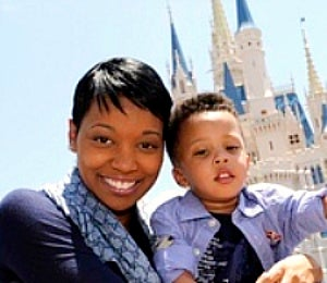 Star Gazing: Monica & Her Kids Visit Mickey Mouse