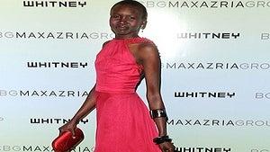 Star Gazing: Alek Wek is the Lady in Red
