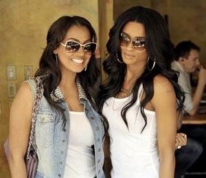 Star Gazing: Ciara and LaLa Vazquez's Lunch Date
