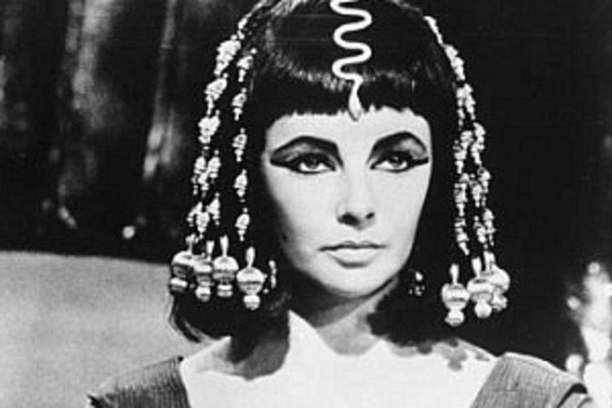 commentary  another white actress to play cleopatra