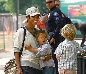 Precious Moments: Halle Berry and Daughter Nahla