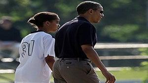 Obama Watch: Soccer Dad, President Obama and Malia