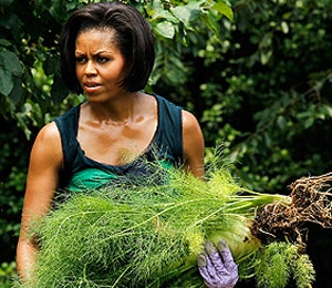 First Lady Diary: Michelle Obama in the Garden