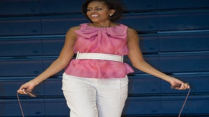 First Lady Diary: Michelle Obama Jumps for a Cause