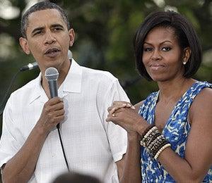 Obama Watch: The Obamas Host a Picnic