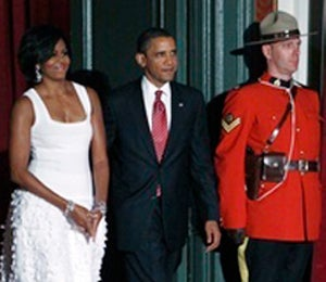 Obama Watch: President and First Lady in Toronto