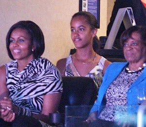 Star Gazing: The Obamas Have a Girls' Night Out