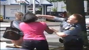 Police Officer Punches Black Girl in the Face
