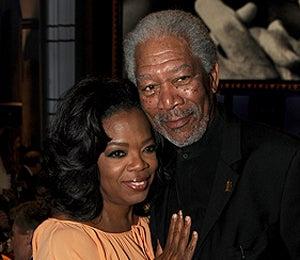 Star Gazing: Oprah and Morgan Freeman at AFI