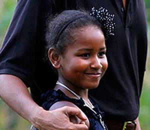 Happy 9th Birthday, Sasha Obama!