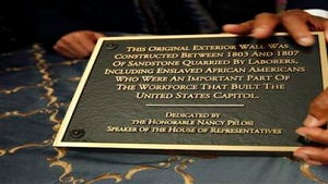 Congress Honors Slaves Who Built U.S. Capitol