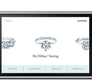 Tiffany's Engagement Ring Finder iPhone App