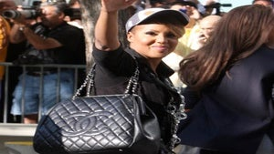 Star Gazing: Toni Braxton Celebrates the Lakers Win