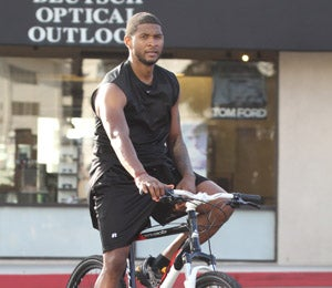 Star Gazing: Usher Takes a Spin