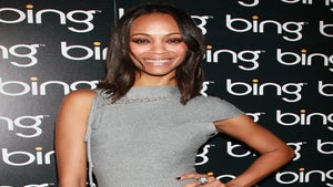 Star Gazing: Zoe Saldana Rocks a Fierce Bodycon Dress