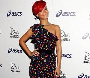 Star Gazing: Rihanna Rocks a Cute, Colorful Romper