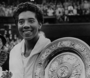 Flashback Fridays: Althea Gibson Wins Wimbledon