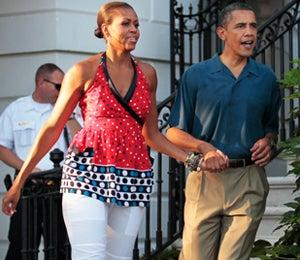 The Obama's Independence Day Celebration