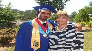 Valedictorian Deonte Bridges Overcomes Adversity