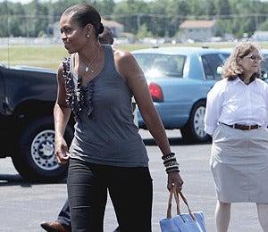 Beauty Beat: Michelle Obama Sports a Green Pedicure