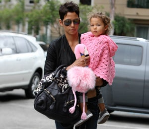 Star Gazing: Halle Berry and Nahla Do Lunch