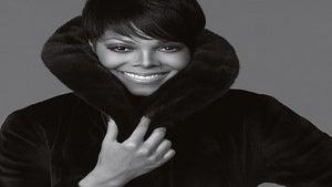 Janet Jackson Poses for Blackglama Fur