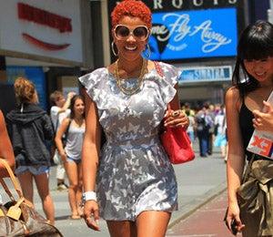 Star Gazing: Kelis Takes a Sunny Stroll