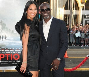 Star Gazing: Kimora and Djimon Walk the Red Carpet
