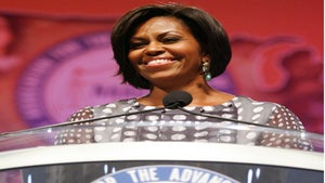 Michelle Obama Speaks at NAACP 2010 Convention
