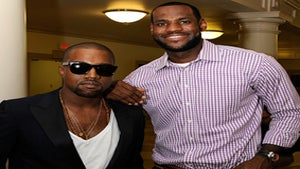 Star Gazing: Kanye West Supports LeBron James