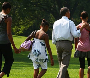 Obama Watch: The Obamas Take a Family Vacation