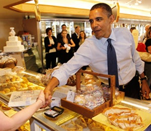 Obama Watch: President Obama Makes a Sweet Stop