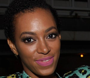 Beauty Beat: Solange's 'Reverse' French Manicure