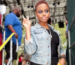Street Style: Chrisette Michele in Central Park
