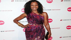 Star Gazing: Garcelle Beauvais Adds a Splash of Color