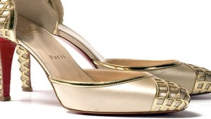 All That Glitters: Chic Gold Footwear