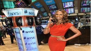 Star Gazing: Iman Rocks the New York Stock Exchange
