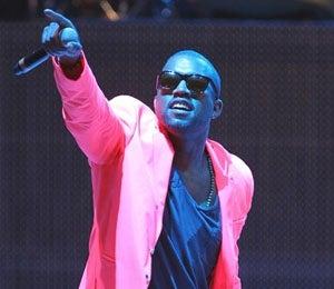 Star Gazing: Kanye West Glows in Singapore