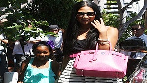 Star Gazing: Kimora and the Kids in the 'Fab Lane'