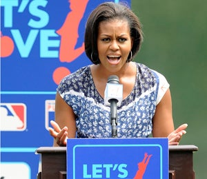 First Lady's 'Let's Move' Campaign Gains Speed
