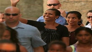 First Lady Michelle Obama Criticized for Spain Vacation