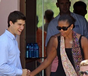 Michelle Obama's Ratings Fall after Spain Vacation