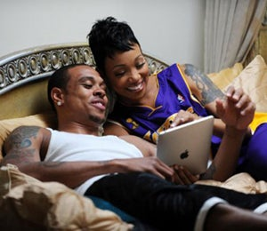 Couple Alert: Monica and L.A. Laker Shannon Brown