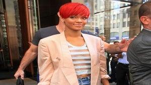 Star Gazing: Rihanna's Beige Blazer Moment