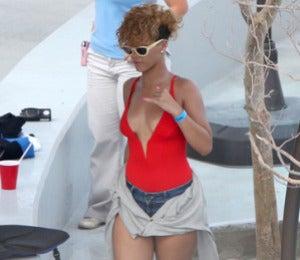 Rihanna's Sultry Summer Swimwear